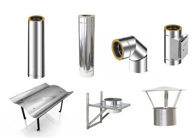Що собою являють труби для димаря з нержавіючої сталі?